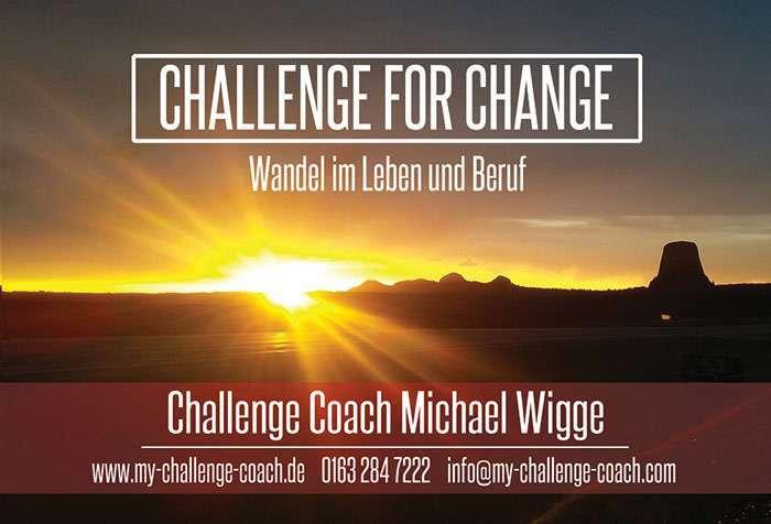 Challenge for Change - Wandel im Leben und Beruf