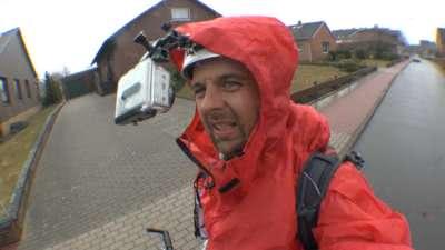 Reisevortrag: Regen mit Tretroller