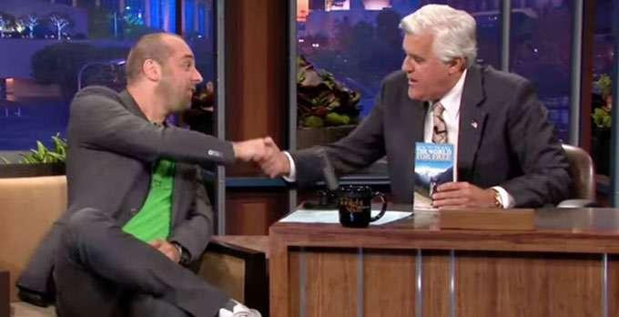 Wigge in der Tonight Show mit Jay Leno