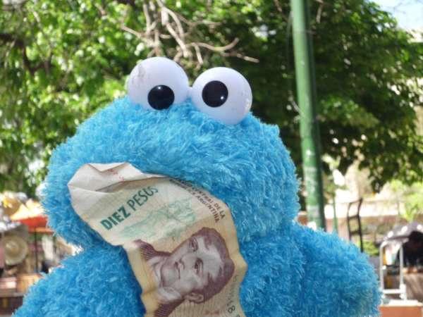 Krümelmonster für Geld - Referent Wigge