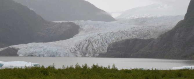 Gletscher Eis
