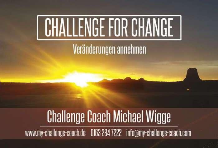 Challenge for Change - Veränderungen annehmen